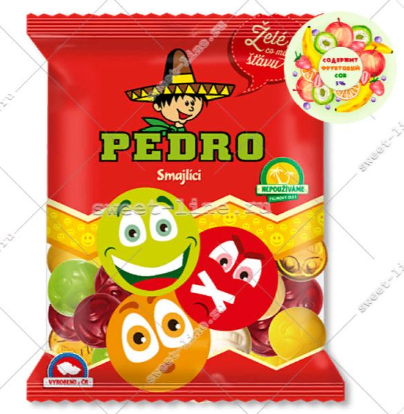 candy plus smajliki 80g
