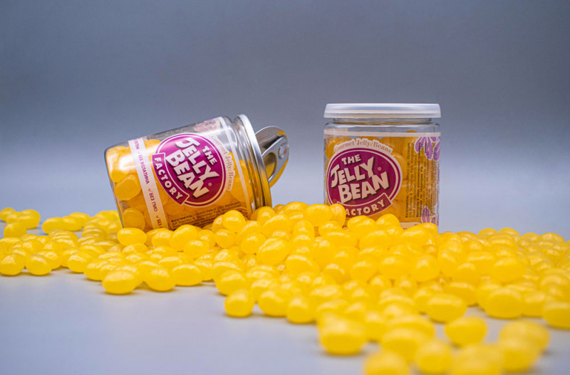 jelly bean factory bananovyj split 140g